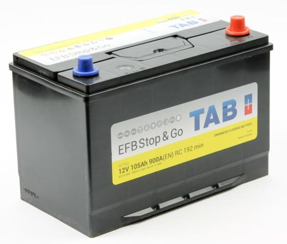 TAB EFB Stop&Go 6СТ-105.0 (60518) яп.ст.