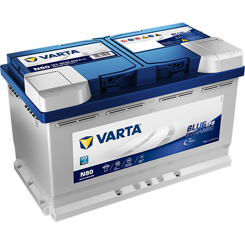 Varta Blue Dynamic 6СТ-80.0 (580 500 080) EFB
